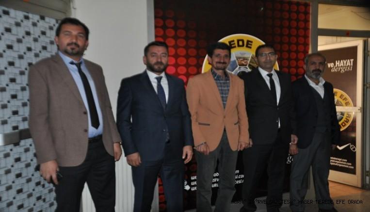 DEVA Partisi Ağrı İl Başkanlığından Yılmaz Efe'ye Ziyaret