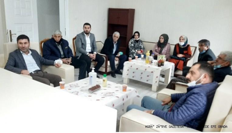 Saadet Partisi Ağrı İl Başkanlığı'na Gelecek Partisi'nden Ziyaret